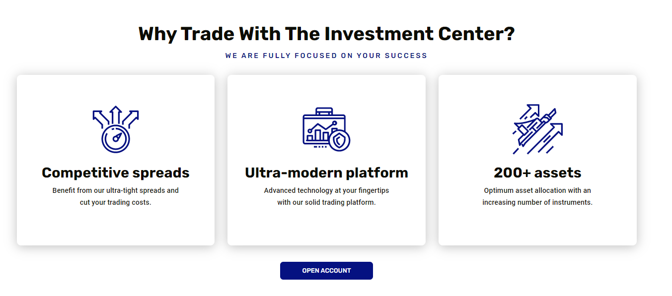 The Investment Center Forex Broker Review