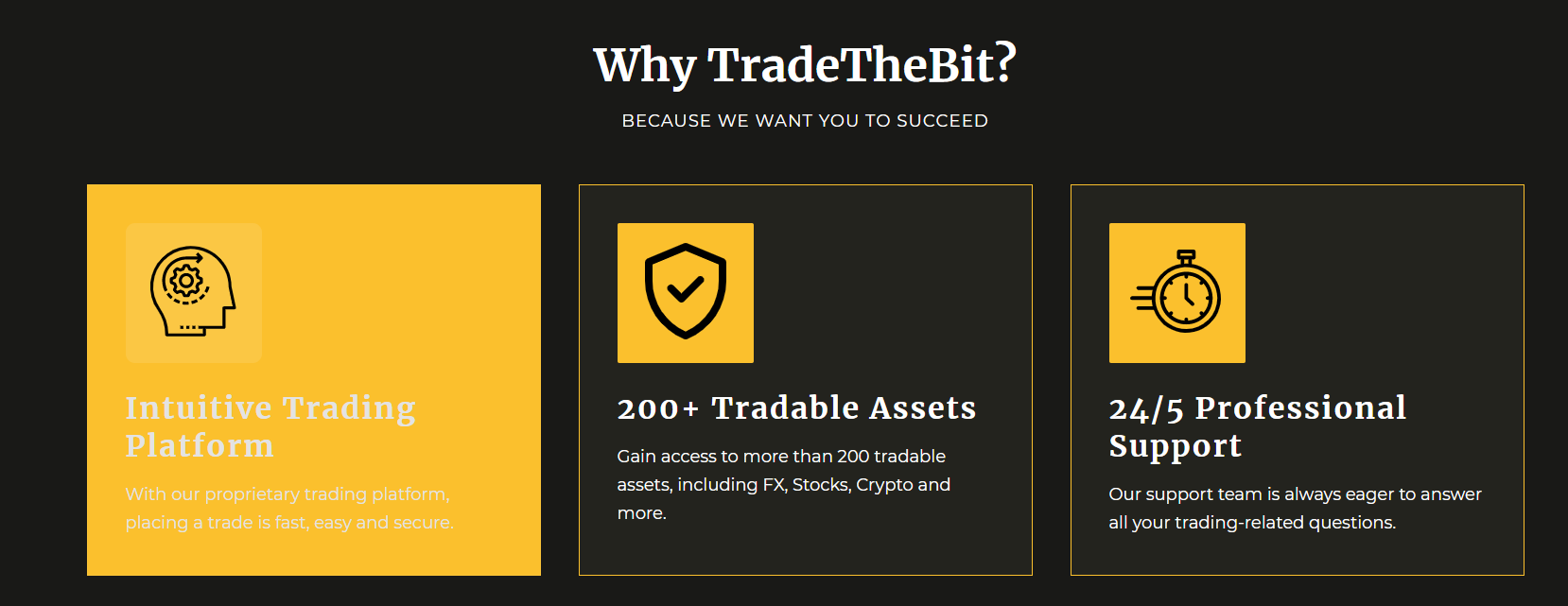 What Can You Trade With Trade The Bit