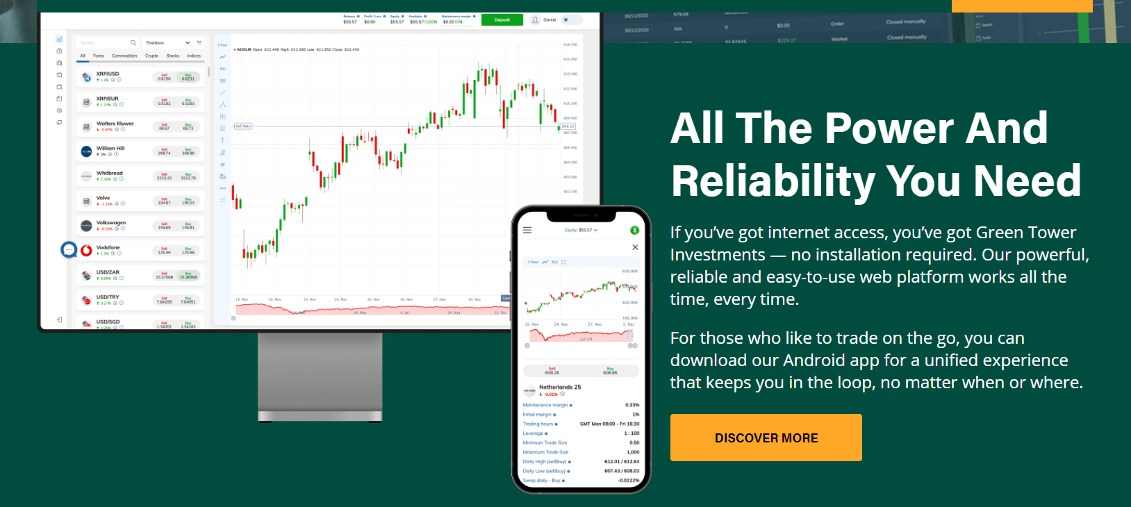 Green Tower Investments Forex Broker Review